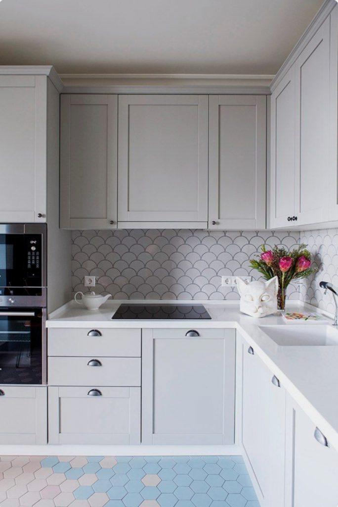 Warna netral pada dapur