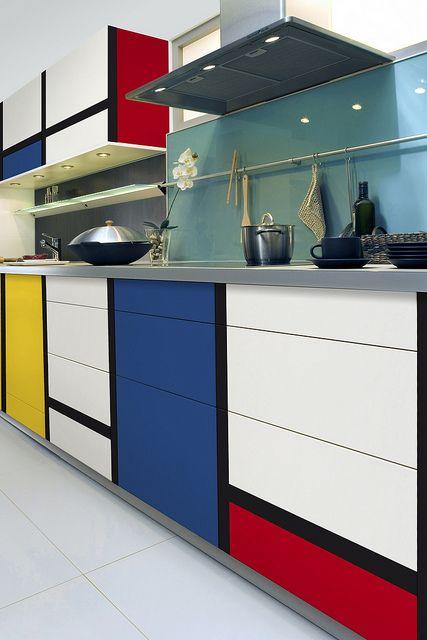 Warna-warna Primer Piet Mondrian