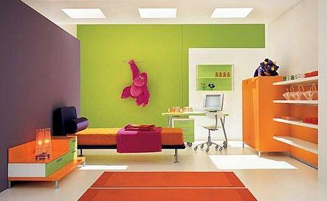Warna-warna sekunder pada desain interior