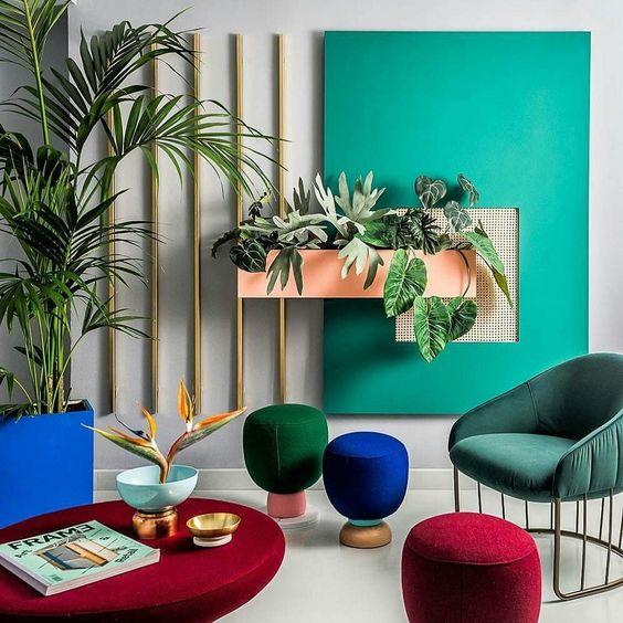 Warna-warna tersier pada desain interior