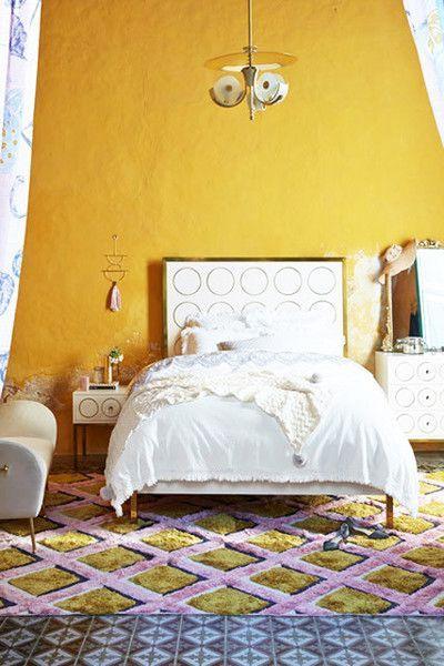 Tren warna cat dinding marigold