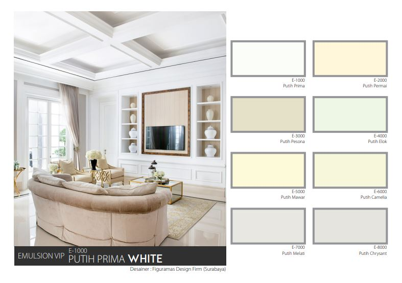 Katalog Warna Mowilex Emulsion VIP